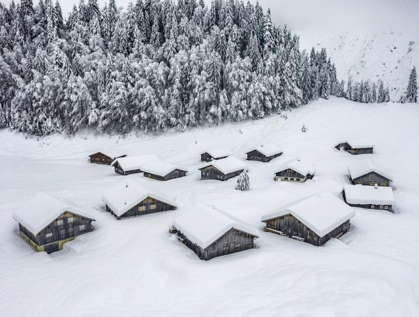 Ein Winter wie damals 👵🏻👴🏻 #bregenzerwald #nostalgie Bregenzerwald