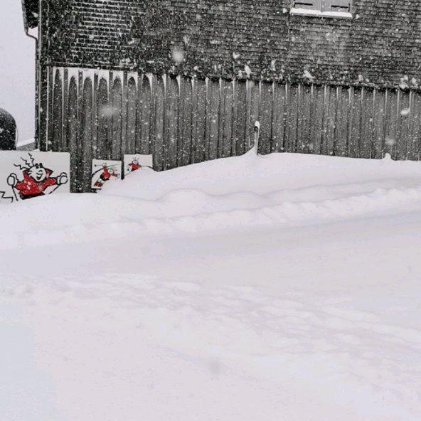 Tolle Aussichten für die kommenden Tage / Wochen.... Schnee, Schnee, Schnee.... ❄️❄️❄️ #zauberstab ...