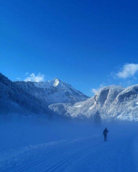 Langlaufen Bizau - Reuthe #crosscountryskiing🎿 #crosscountryskiing #winterlandschaft #winterwonderland #vorarlberg #austria #bregenzerwald #bregenzerwald_fan #bizau ...