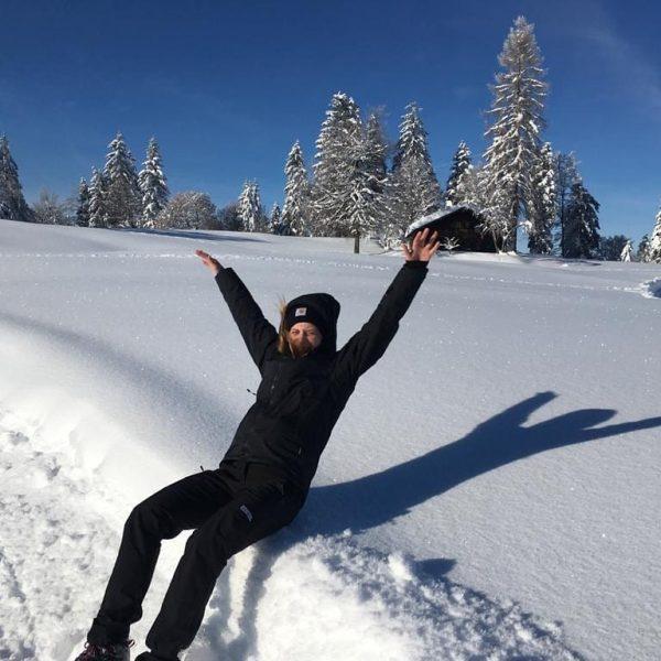 #bödele #schnee #neuschnee #engel #schneeengel #wunderschön #natur #naturliebe #visitvorarlberg #bödelesee #woistderbödelesee? #visitbregenzerwald #schwarzenberg ...
