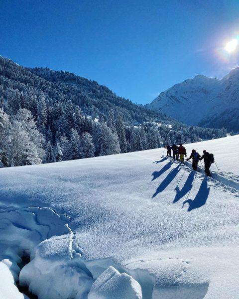 Ein perfekter Tag zu Abschluss der Vorarlberger Wanderführerausbildung im @kleinwalsertal Gratulation allen Teilnehmern! ...