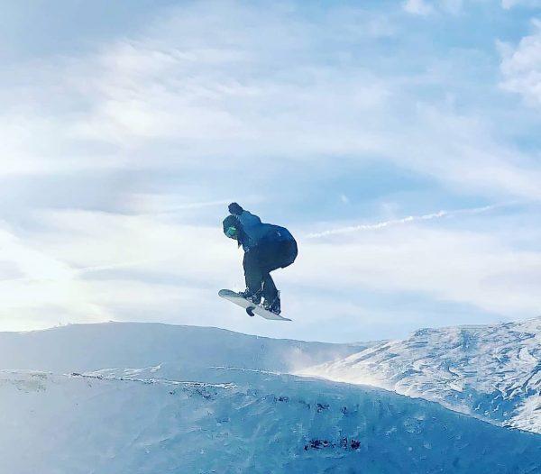 Januar 2020 Skigebiet Damüls - Mellau