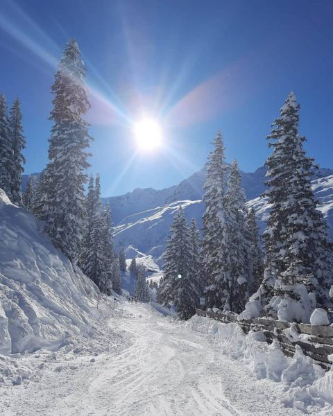 Da zu arbeiten wo andere Urlaub machen hat was.😉💪 @silvrettamontafon @laendleful @dein_bestes_natur_foto @meintraumtag @vordussa @seilbahnentechnik_aut #winter #winterishere...