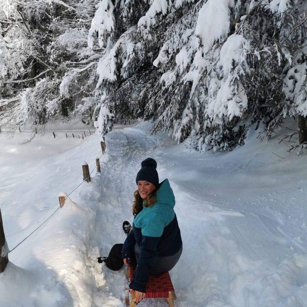 #rodeln #winterwonderland #bregenz #vorarlberg Pfänder