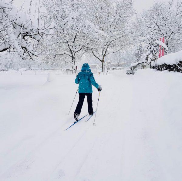Nicht nur Feldkirchs Innenstadt zeigt sich derzeit von seiner winterlichen Seite, auch die ...