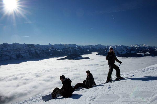 Über den Wolken 🤍 #skigebiet #niedere #bezau #andelsbuch #skifahren #snowboarding #winter #abovetheclouds #snow ...