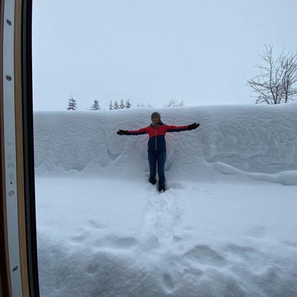 Schneemessen😇🍀👍❄️❄️❄️ #lechzuers #arlberg #roggal #mountains #hiking #placetobe #beautifulday #paradise #mylechzuers #wanderdoerfer #diemagiedeslebens2019 #wanderdoerferunterwegs ...