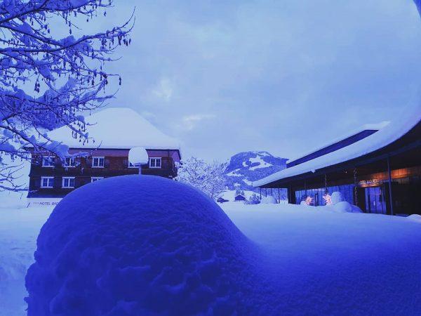 Winterfeeling in #badreuthe 🤩 . . . #winterwonderland #schneezauber #visitaustria #visitvorarlberg #visitbregenzerwald #venividivorarlberg ...