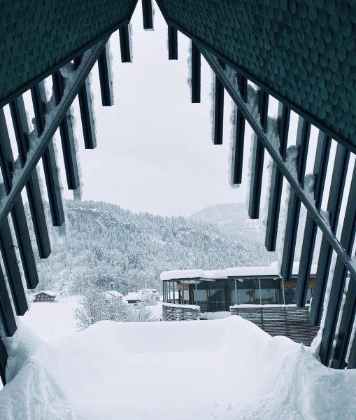 Schöne verschneite Grüße vom GAMS zu zweit aus Bezau. Das Wichtigste was fehlt ...