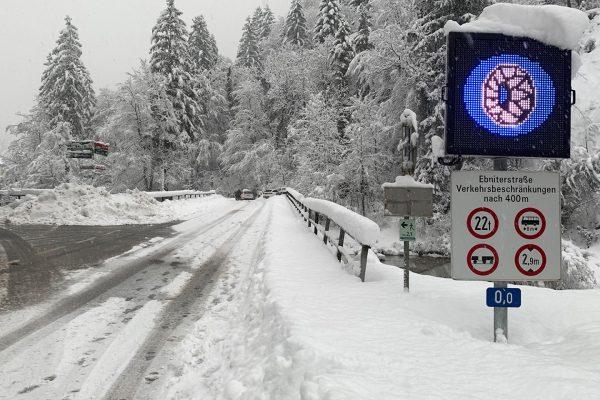 Die Straße ins #Ebnit konnte heute um 13:30 Uhr wieder für den Verkehr ...