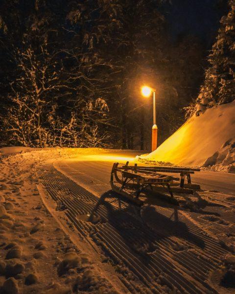 Nachtrodeln am Golm 🛷 Jeweils Mittwoch, Freitag & Samstag von 18:00 bis 21:00 ...