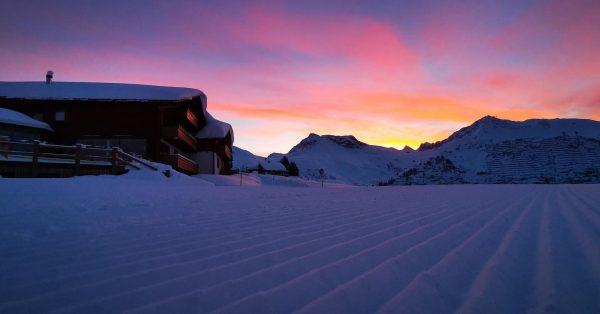 Heute Morgen in Oberlech 😍 Lech, Vorarlberg, Austria