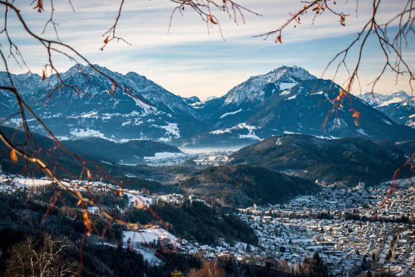 A view of Göfis. Taken from Viktorsberg in Vorarlberg 📸🏔️ #austria #vorarlberg #visitvorarlberg ...