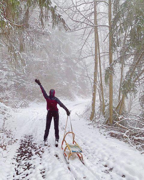 #tb zu einem weihnachtlich Rodelausflug in Vorarlberg ❄️🏔 #hausberg #vorarlberg #happy #dünserberg #weihnachten ...