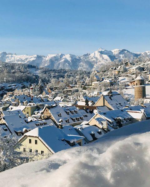 Diese unvergesslichen Wintertage in @feldkirch, als der Neuschnee in der Sonne glitzerte... 💭☀️❄❤ ...