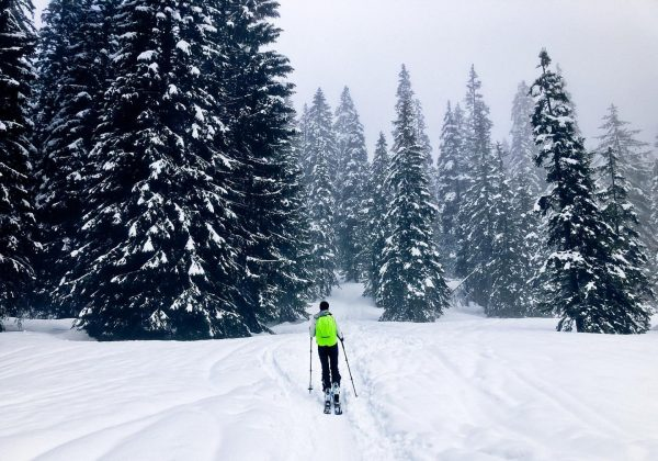 carpe diem #skitouring #laterns #vorarlberg #backonski #firsttour #winter #snow #thereisnobadweatheronlybadclothing danke dir @_pixelkat_ ...