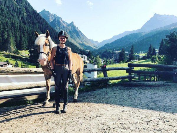 #dream #dreamday #horse #horsesofinstagram #madera 6 #years #old #haflinger #pony #alps #austria #nature #wilderness #wanderlust #fit #fitnessmotivation...