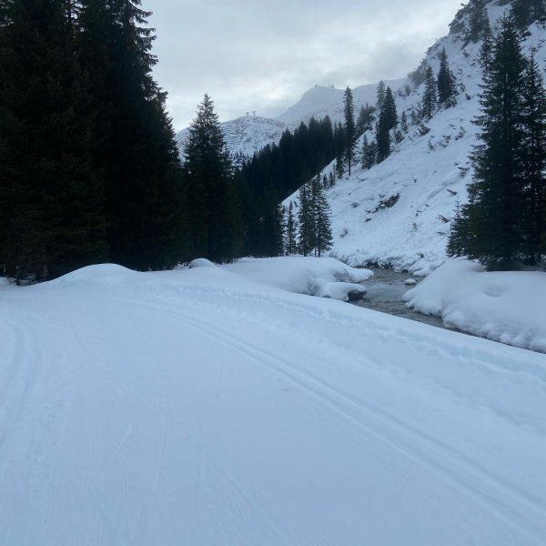 8:45 Uhr Morgenstund hat Gold im Mund😇🍀👍 #lechzuers #arlberg #roggal #mountains #hiking #placetobe ...