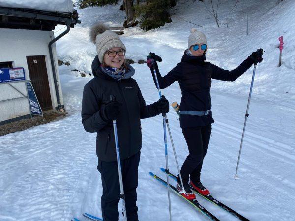 Langlaufen am Kristberg macht einfach Spaß ☺️💪 Mehr Infos auf Viel Spaß beim ...