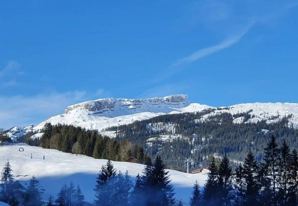 Was war das für ein schöner Tag im Tal 😎🌞 #sonne #winter #kleinwalsertal ...