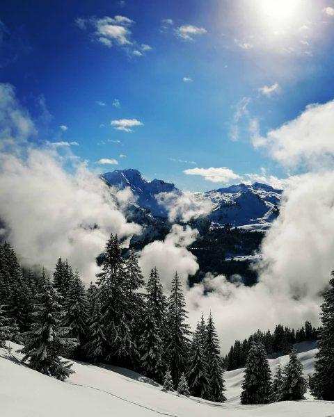 Skitour auf das Zafernhorn Blick Richtung Rote Wand #bregenzerwald #bregenzerwald_fan #skitour #damüls #Faschina ...
