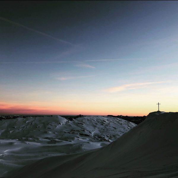 #kleinwalsertal #hahnenköpfle #sunrise #🌄 Kleinwalsertal Österreich