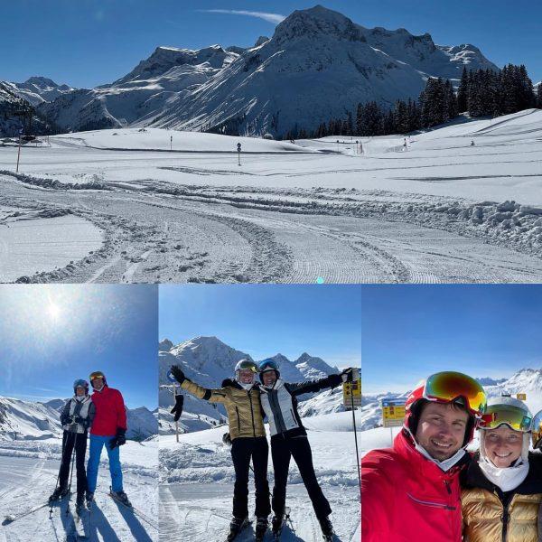 Familienskitag 🍀😇👍💪☀️ #lechzuers #arlberg #roggal #mountains #hiking #placetobe #beautifulday #paradise #mylechzuers #wanderdoerfer #diemagiedeslebens2019 ...