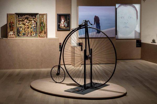 Können Sie sich vorstellen, mit einem solchen Hochrad nach Innsbruck zu radeln? Otto ...
