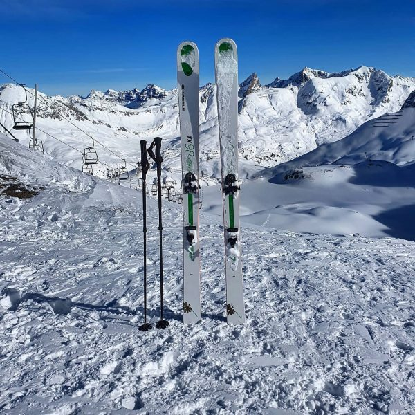 Earn your turns? 🔥 In this winter definitely a good choice: A ski ...