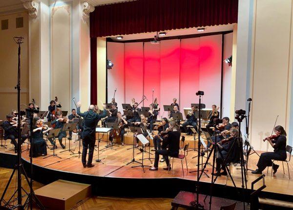 Recording Day! 🎙🎙Sinfonieorchester des Vorarlberger Landeskonservatoriums Igor Strawinsky: Pulcinella Suite #stravinsky #pulcinella #orchester ...
