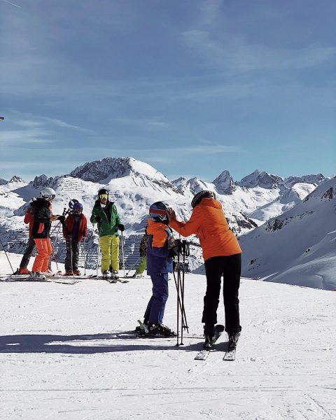 Es ist ein weiterer LSF 50+ Tag hier auf dem Arlberg. #wearyoursunscreen . ...