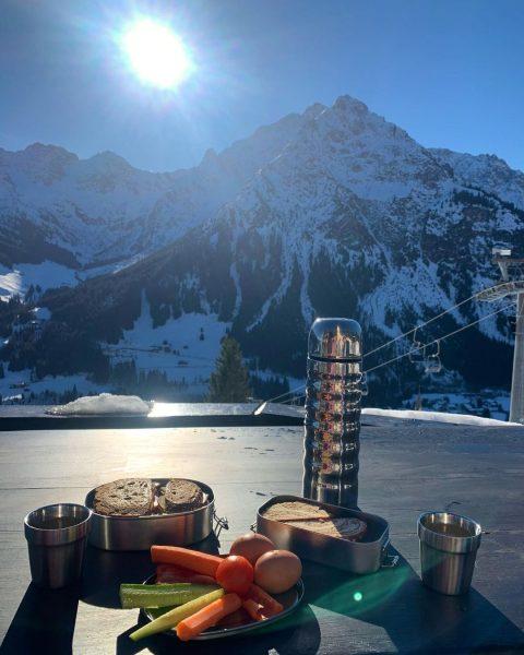 ☀️ 9:00 Frühstück im Kleinwalsertal wie eine so einfache Brotzeit - einen im ...