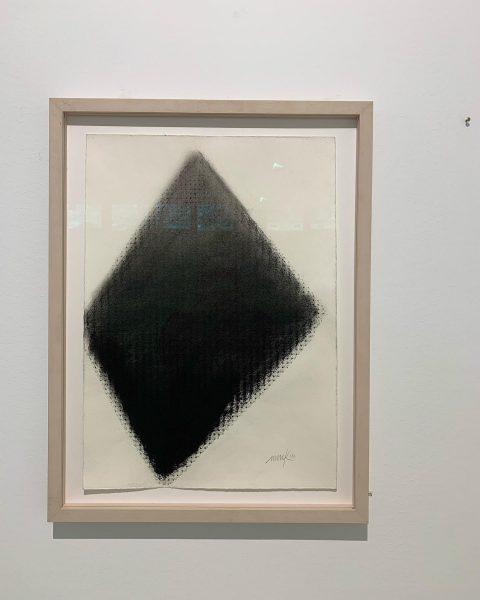 This pretty black drawing by HEINZ MACK is reproduced in the book AL ...