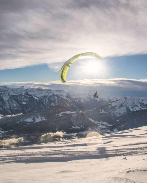 Hallo Aussicht! Ob vom Boden aus oder aus der Luft, ein atemberaubendes Panorama ...