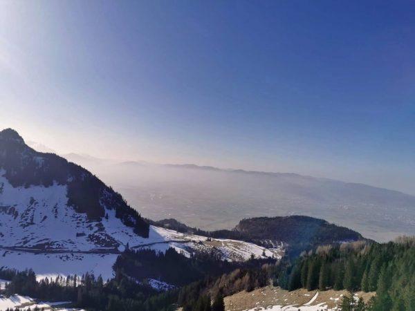 Einen traumhaften Rundumblick konnte man gestern Nachmittag von der Staufenspitze aus genießen ☀😎 ...