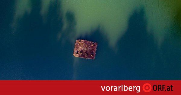 Seewaldsee – ein dunkler Edelstein - Er liegt wie ein dunkler Edelstein etwas ...