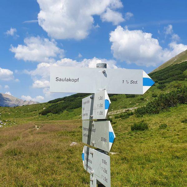 Heute eine sehr geile Tour von Douglashütte auf Saulakopf und zurück über H.Hueter ...