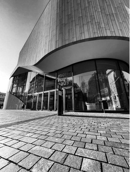 Montforthaus Feldkirch #architecture #photography #natur #schnee #designer #snow #nature #geometry #geometry #archistudent #archi ...