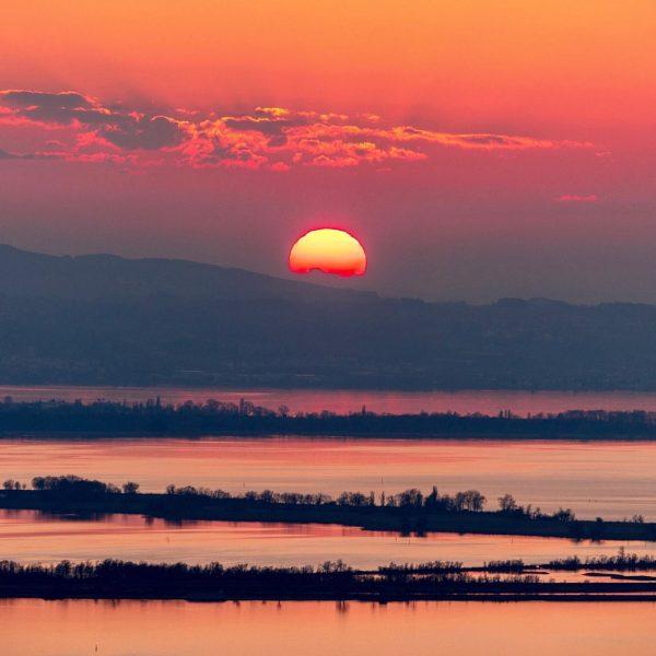 Red Sea #bodenseevorarlberg #lakeofconstance #rheinspitz #rohrspitz #sunset #venividivorarlberg #visitvorarlberg #redclouds #visitaustria🇦🇹