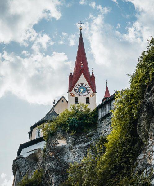 📍Basilika Rankweil . . . . . #rankweil #basilika #church #sky #clouds #bluesky ...