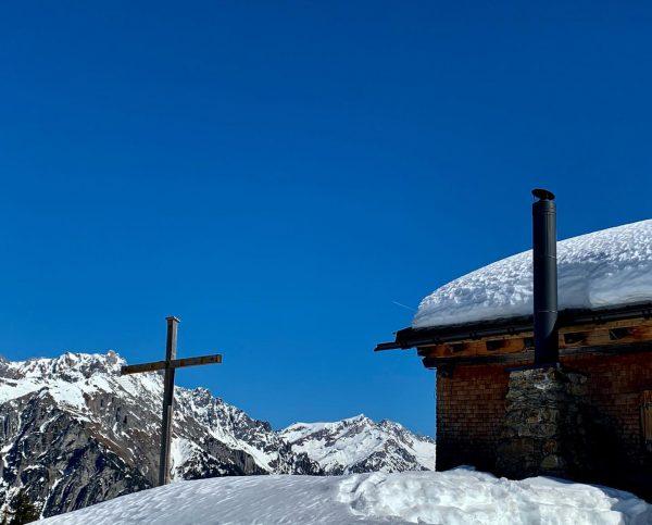 Der Sonnenkopf am Fuße des Arlberg ist als eines der wenigen Naturschnee-Skigebiete sehr ...
