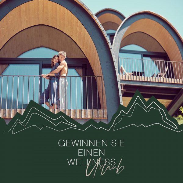 ✨ GIVEAWAY ✨ Gewinnen Sie einen Wellness Urlaub im wunderschönen @alpencampingnenzing ! 🌿 Einfach für den Newsletter...