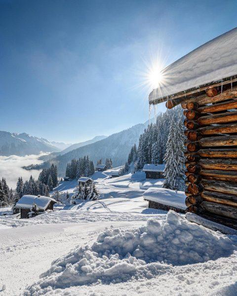 Hütten am Golm Cottages at the Golm #golm #montafon #vorarlberg #austria #visitvorarlberg #weloveaustria_official #loves_austria #ig_austria #austriaplaces #austria_pictures...