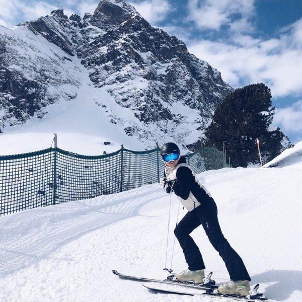Ich hab's wieder mal auf die Ski geschafft!!! Wo wurde das Foto gemacht? ...