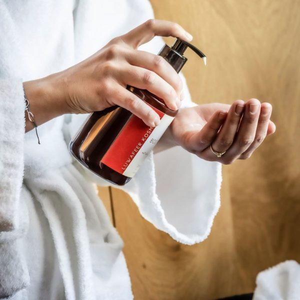 Luwafeer Kosmetik 🧼 Während Ihres Aufenthalts können Sie unsere Produkte verwenden und sie ...