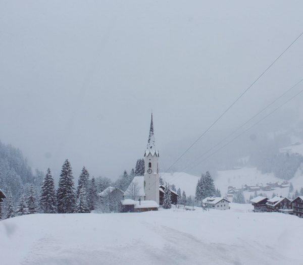Winterwonderland in Warth-Schröcken❄️☃️ Über 30cm Neuschnee gab's für uns! #warthschröcken #warth #schröcken #arlberg ...