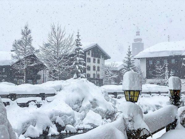 Winter is back! ❄️👌⛷ #lechamarlberg #lechzuers #arlberg #skiarlberg #wintertime Lech Zürs am Arlberg