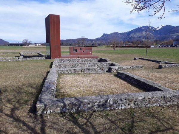 Das Freiluft-Römermuseum In Rankweil-Brederis beim Golfplatz befindet sich das Freilichtmuseum