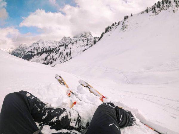 Skitour Baad - Höferspitze - Baad - Güntlespitte - Baad (22 km - ...