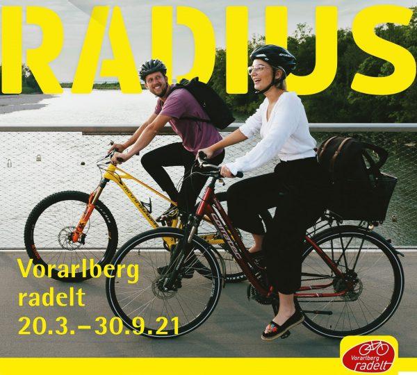 Fahrradwettbewerb #RADIUS: melden Sie sich an und gewinnen Sie. Informationen unter: #Dornbirn #Fahrrad ...